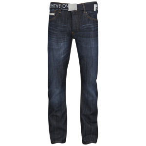 Smith & Jones Men's Furio Straight Fit Jeans - Dark Wash