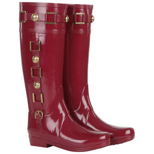 Hunter Women's Regent Hurlingham Wellies - Very Berry