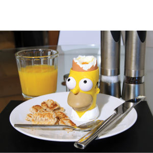 Homer Egg Cup and Toast Cutter