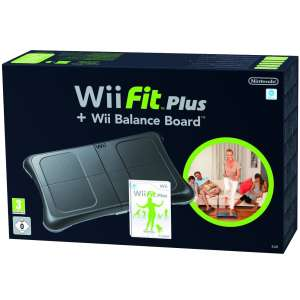 Wii Fit Plus (Bundled with Black Board)