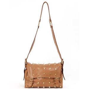 Lilifi Leather Studded Satchel