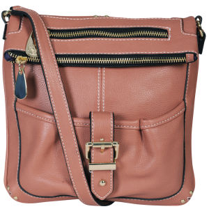 Mischa Barton Whitehaven Cross Body Bag - Salmon