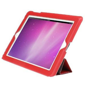 HornetTek L'etoile New iPad Carrying Case - Red