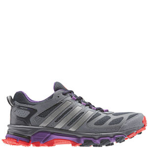 adidas Women's Response Trail 20 Running Shoe Night Shade/Metallic Silver/Hi - Res Red