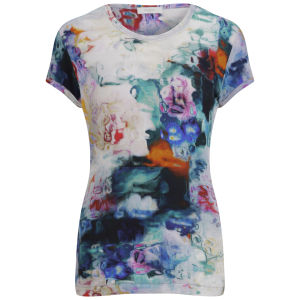 Paul By Paul Smith Women's Underwater Floral Tee - Off White