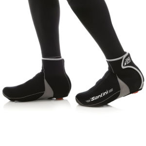Santini Neo Blast Neoprene Shoe Covers - Black