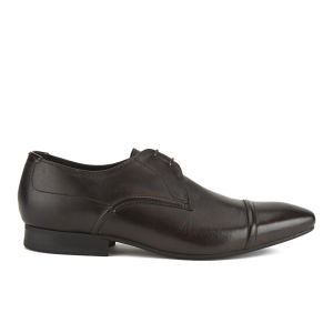 H Shoes by Hudson Men's Larch Toe Cap Derby Shoes - Brown