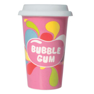 Jelly Belly - Bubblegum Ceramic Travel Mug