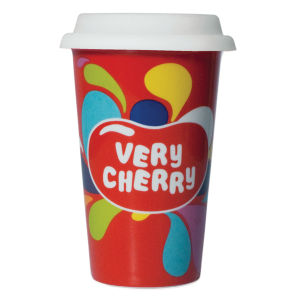 Jelly Belly - Very Cherry Ceramic Travel Mug