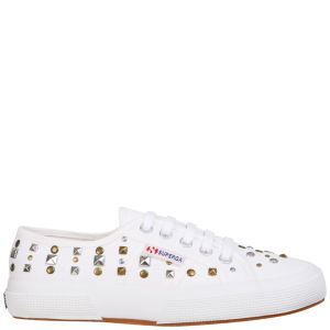 Superga Women's 2750 Cotu Studs Trainers - White