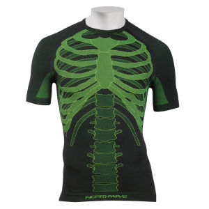 Northwave Body Fit Evo-Short Sleeves - Black/Fluo