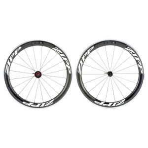 Zipp 60 Clincher Wheelset Inc. Continental GP4000s II Clincher Tyre - Classic White