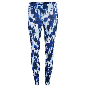 Myprotein Blue Geometric Print Leggings, Multi