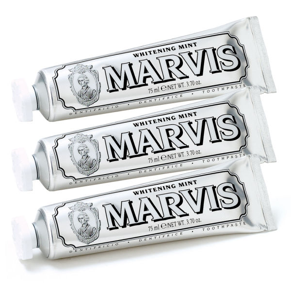 Marvis Whitening Mint Toothpaste Triple Pack (3 x 75ml)