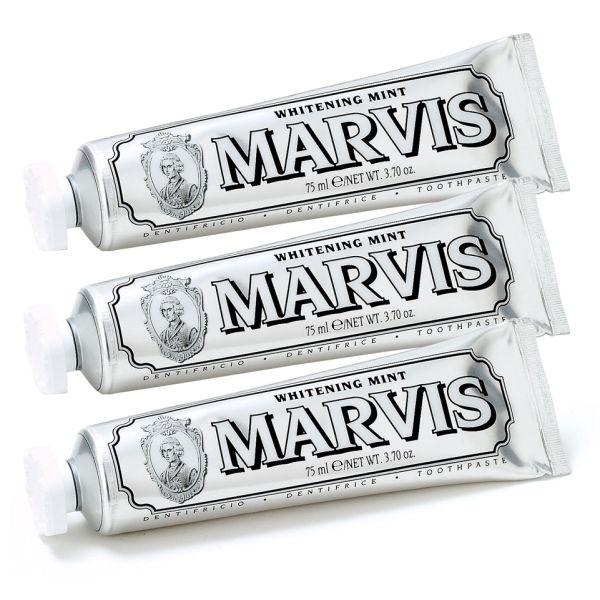 Marvis Whitening MintZahncremeDreier Pack(3 x 75ml)
