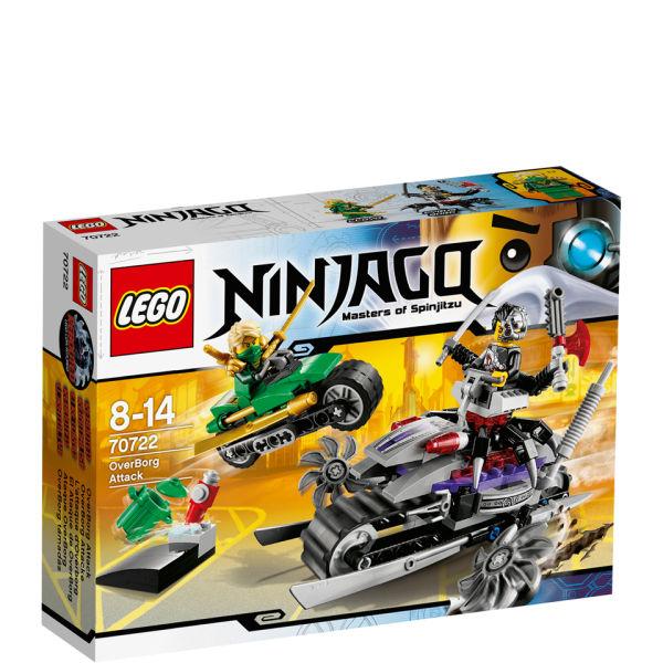 Lego Ninjago Toys : Lego ninjago overborg attack toys zavvi
