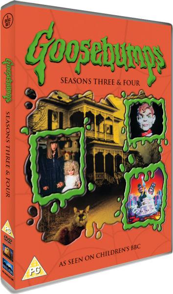 Goosebumps - Seasons 3 And 4 DVD