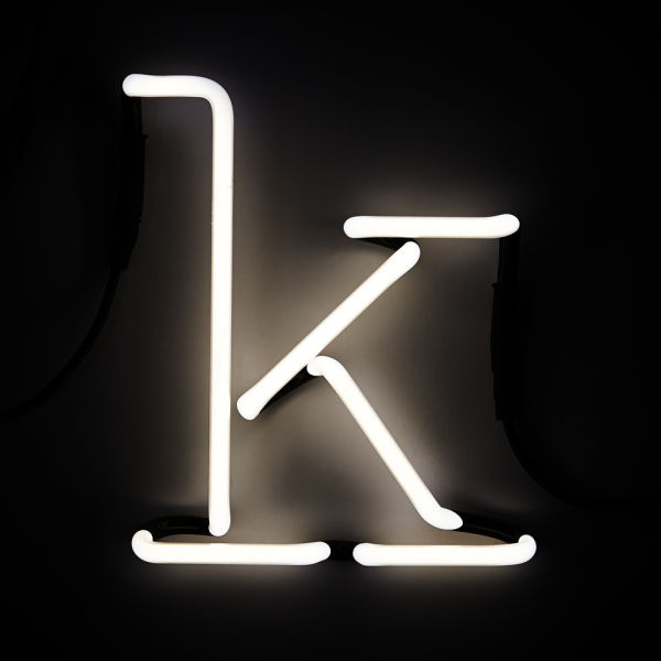Seletti Neon Wall Light - Letter K IWOOT