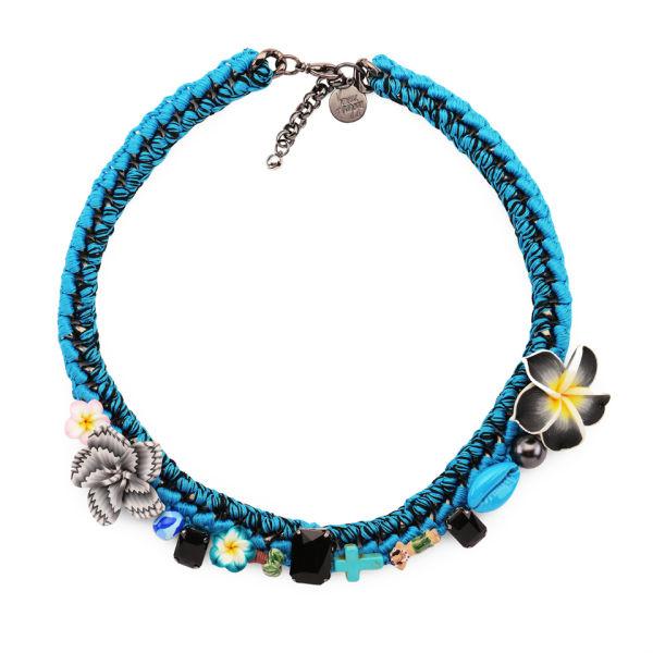 Venessa Arizaga Pure Shores Necklace - Blue