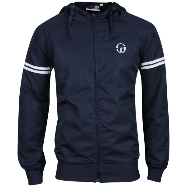 sergio tacchini men 39 s infinity hooded jacket navy. Black Bedroom Furniture Sets. Home Design Ideas