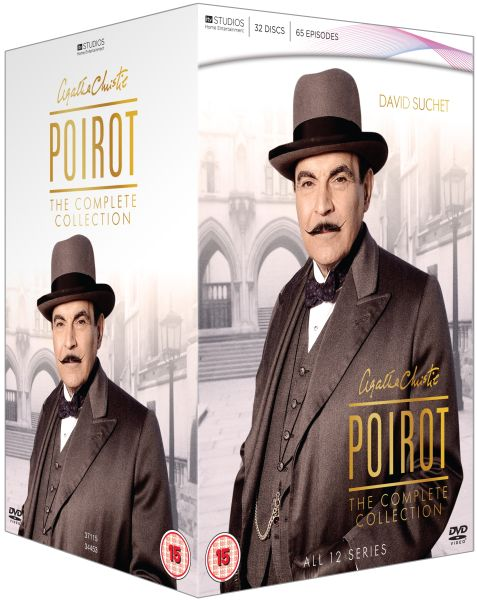 Agatha Christie Poirot The Complete Collection Dvd