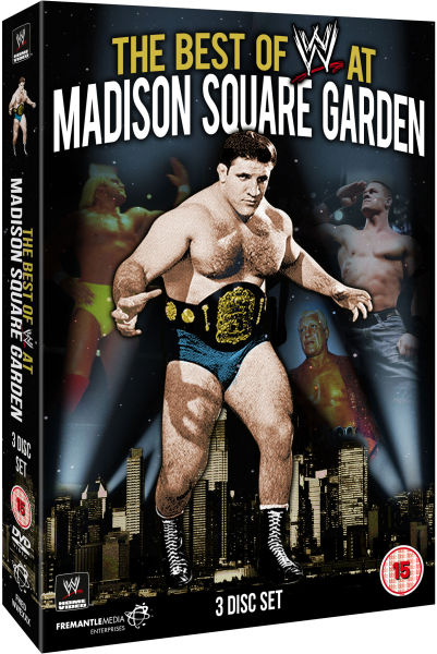 Wwe The Best Of Wwe At Madison Square Garden Dvd