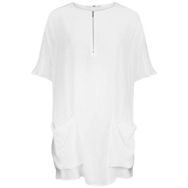 D.EFECT Women's Bess Tunic - White