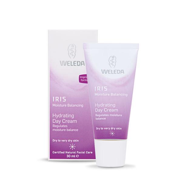 Crema de díahidratante Iris de Weleda (30 ml)