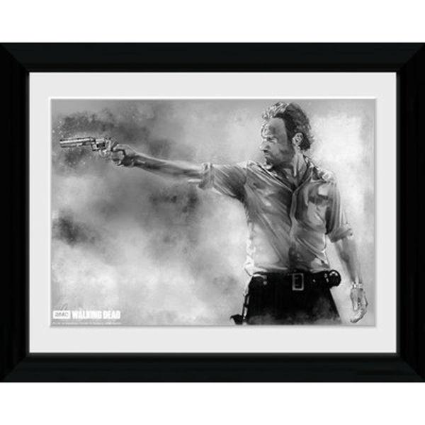 The Walking Dead Rick - 30 x 40cm Collector Print