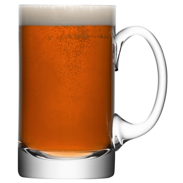LSA Bar Beer Tankard - Clear (750ml)