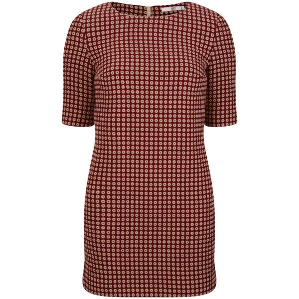 D.EFECT Women's Morgana Dress - Red Mix
