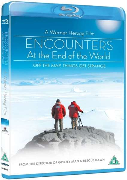 Encounters at the end of the world blu ray for Werner herzog t shirt