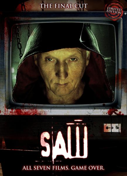 Saw: The Final Cut Edition 1-7 (Including Lenticular Case)