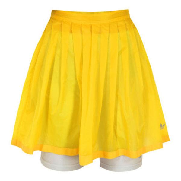 Adidas Originals x Opening Ceremony Women's Sheer Flare Skirt - Sun Yellow