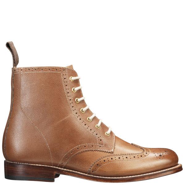 Grenson Women's Ella Brogue Boots - Tan