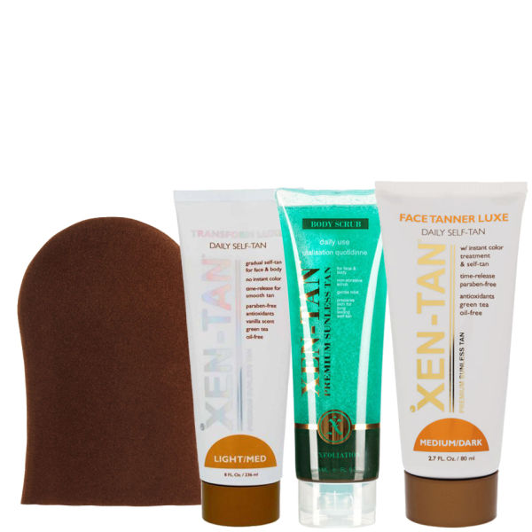 Xen-Tan Self Tanning Kit - Light/ Medium