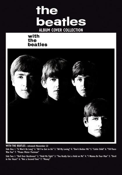 With The Beatles Album Greeting Card Iwoot