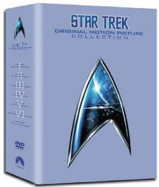 Star Trek 1 - 6 Box Set