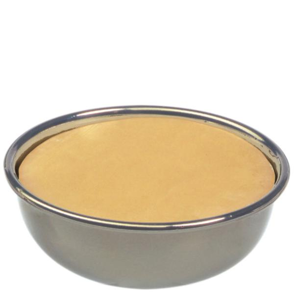 Savon à raser eShave avec mandarine dans un bol en nickel