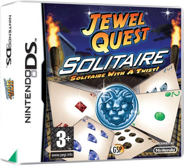 Principal Videojuegos Nintendo DS Videojuegos Jewel Quest Solitaire