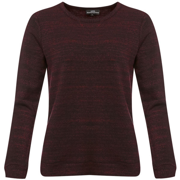 A.P.C. Women's Sweat - Bordeaux