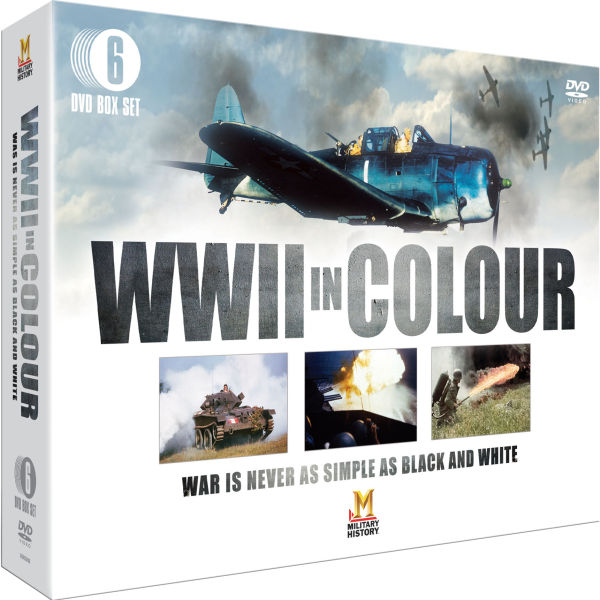 World War 2 in Colour DVD | Zavvi.com - 60.1KB