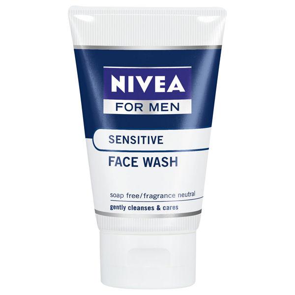 Nivea For Men Sensitve Face Wash 100ml Free Delivery