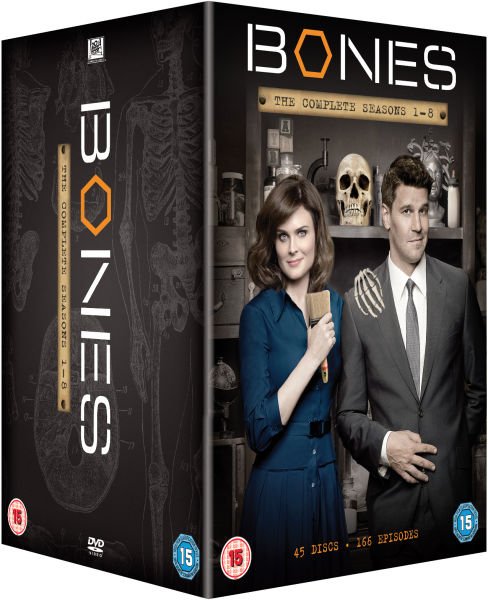Bones Season 1-8 DVD Set