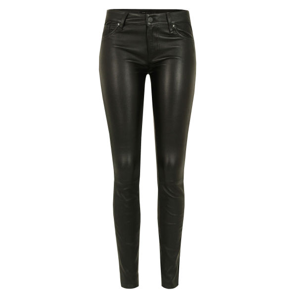 Marc by Marc Jacobs Women's 919 Mirah Skinny Leather Pantss - Black
