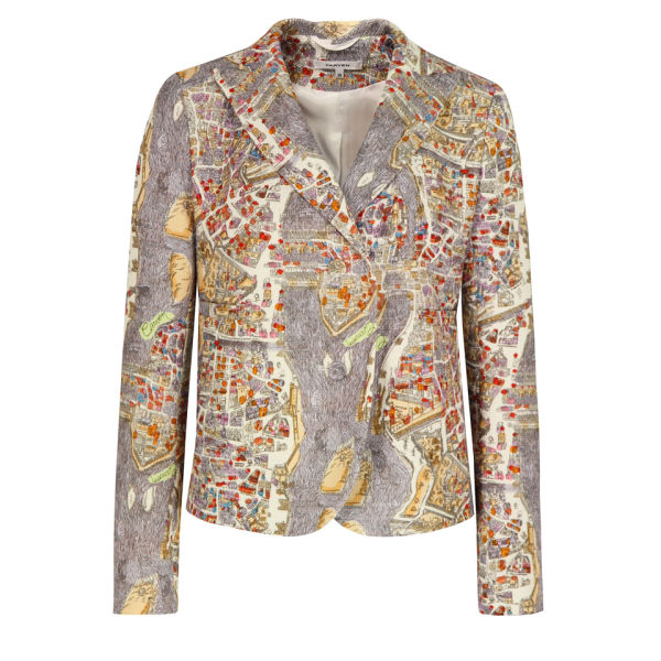 Carven Women's 500-V26 Paris Braided Jacket - Lavender