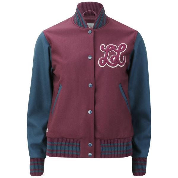 Lacoste Live Women's Baseball Jacket - Griottine Cherry
