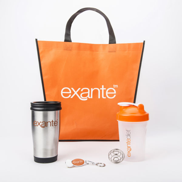 Exante Diet January Motivational Bundle 2 Health & Beauty ...