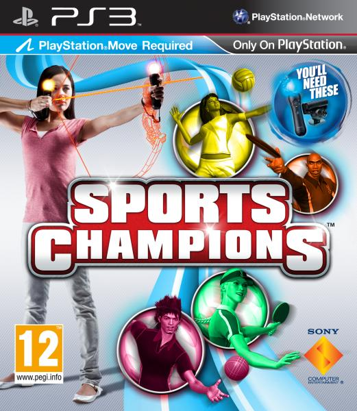 Sports Games For Ps3 : Sports champions playstation move ps zavvi