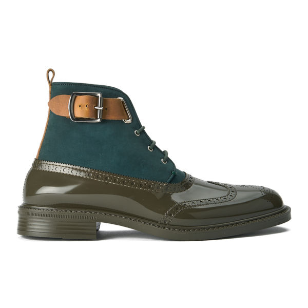 vivienne westwood s lace up leather suede brogue boots